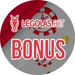 Legolas Casino 100 free spins and 100% bonus up to €250