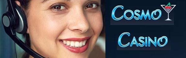 Cosmo Casino support