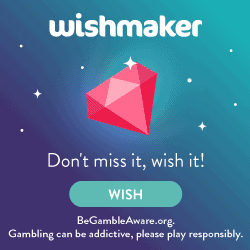 Wishmaker Casino [register & login] 50 gratis spins + €200 free bonus