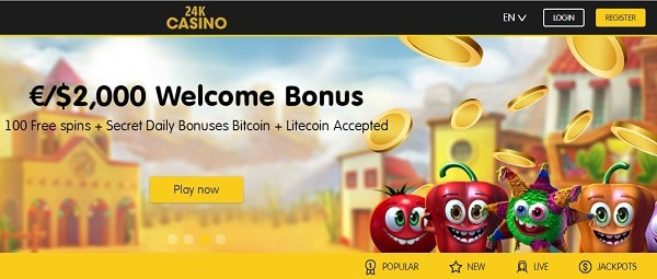 24kCasino.com promotion