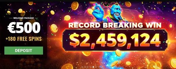 Big Win Bitcoin Jackpot