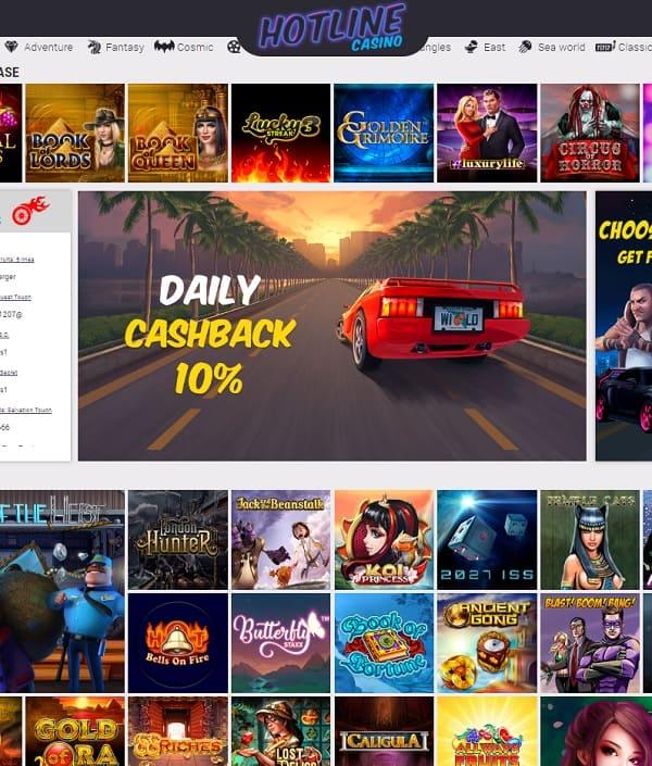 Hotline Casino reviews