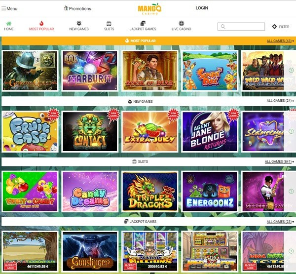 Mango Casino Pay N Play Review