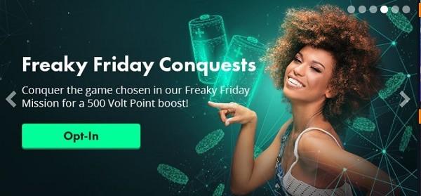 Volt Casino Friday Conquests