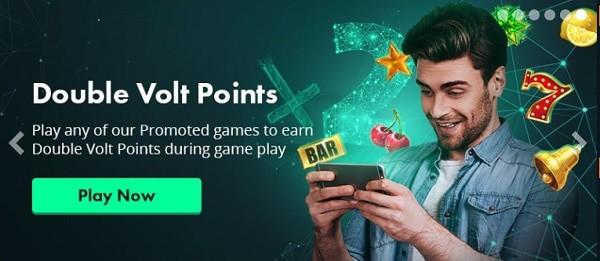 Volt Casino Double Volt Points