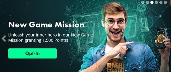 Volt Casino New Game Mission