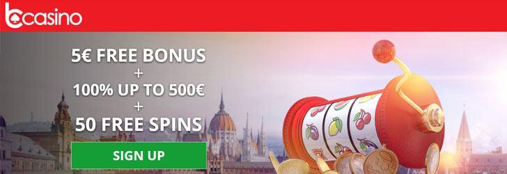 5 EUR no deposit