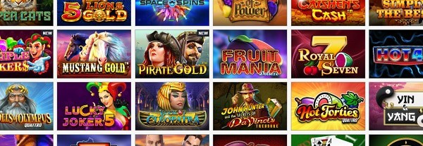 Fruits4Real slots and table games