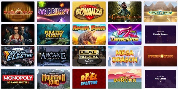 Play Slots, Roulette, Blackjack, Poker and Jackpots at Slot Planet Casino!