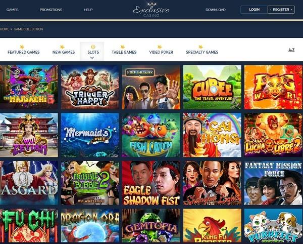 Exclusive Casino Online Review