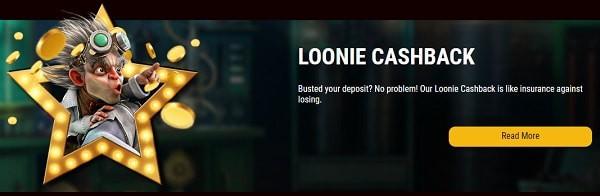 Loonie Cashback Bonus