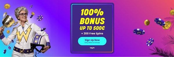 Welcome Bonus For New Players!