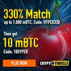 Thrills Casino Bonus Code
