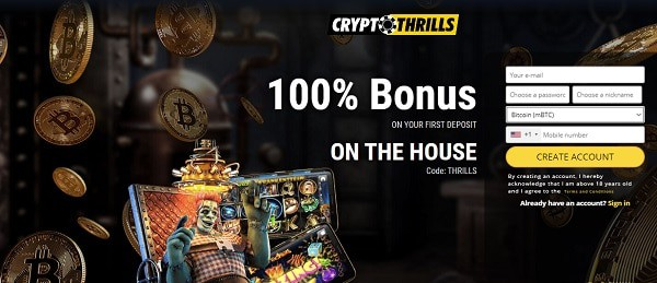 Exclusive Offer at Thrills