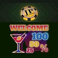 JP Casino 150% up to €/$600 free bonus on 1st deposit