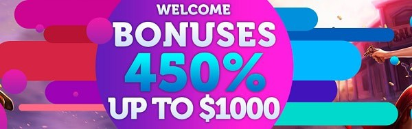 450% huge bonus