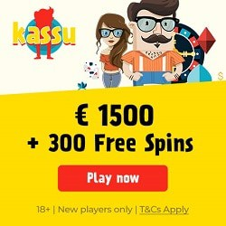 300 free spins and $/€1500 welcome bonus