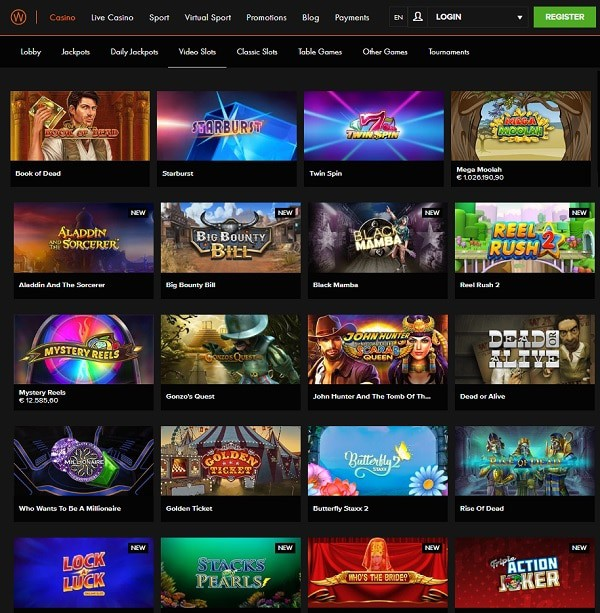 CasinoWinner review