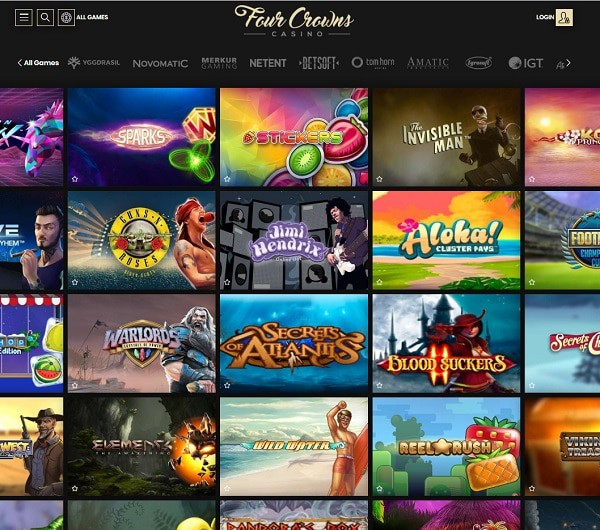 Four Crowns Casino Review