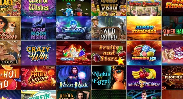 Bet2U Slots and Table Games