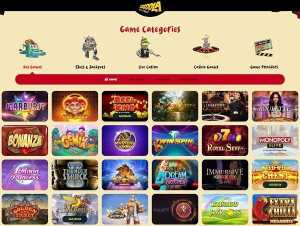 Casoola.com Casino Online Review