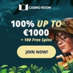 Casino Room 100 gratis spins and €1000 free money bonus