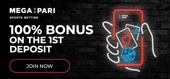 Deposit now and get 100% extra!