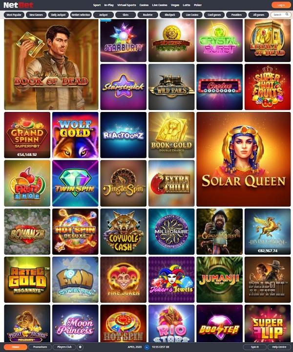 NetBet Casino & Sportsbook Full Review