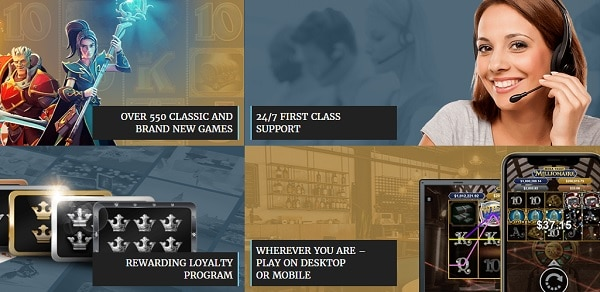 Casino Kingdom Support and Loyalty Rewards