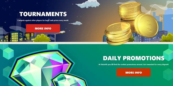 Tournaments and Daily Promotions
