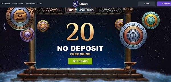 20 No Deposit Free Spins Bonus