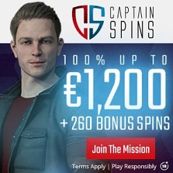 Captain Spins Casino banner 250x250