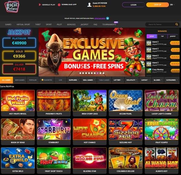 Exclusive Casino Slots