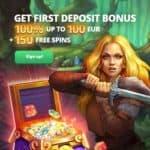 Slot Hunter Casino 200 gratis spins + 300% up to €500 bonus