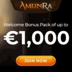 AmunRa Casino €1000 GRATIS and 100 free spins bonus