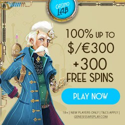 Casino Lab bonus banner 250x250