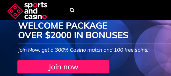 Claim 100 freespins and $2000 free bonus!