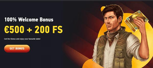 100% Casino Bonus
