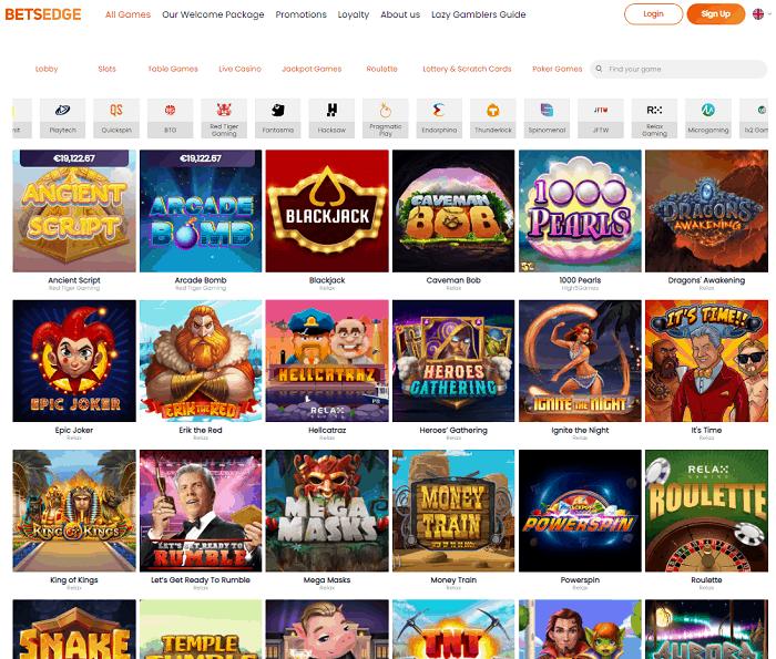 Betsedge Casino Review & Bonus
