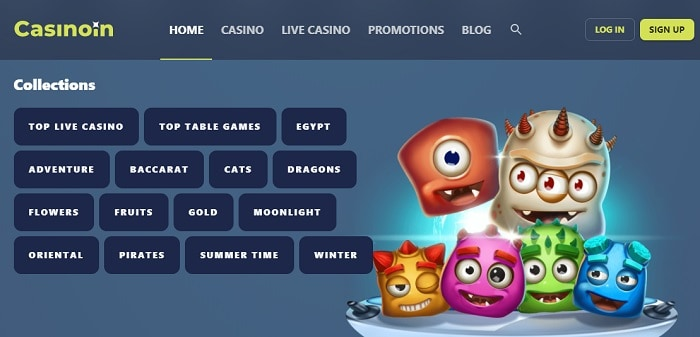 Best casino game collection