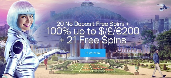CasinoDome.com Free Bonus