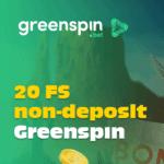 GreenSpin.bet Casino 20 free spins bonus no deposit required