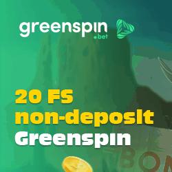 20 exclusive free spins bonus
