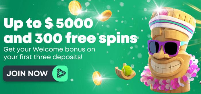 Green Spin Casino Bonus
