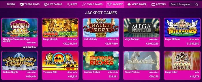 No Bonus Jackpot Slots