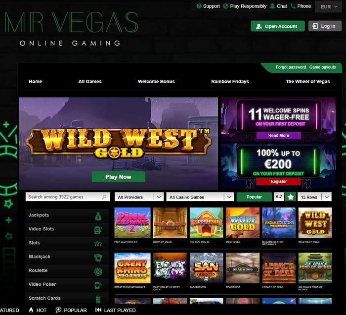 Mr Vegas Online
