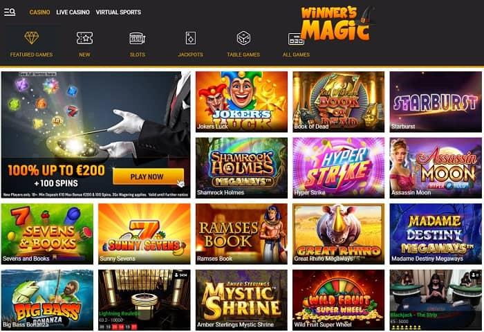 Magic Slots and Jackpots