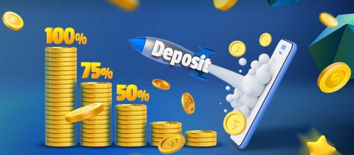 Make a deposit and get 120 free spins!