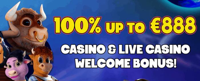 100% wlecome bonus
