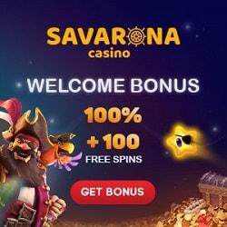 Savarona Casino bonus banner